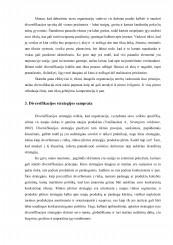 horizontaliosios diversifikacijos strategijos pavyzdžiai